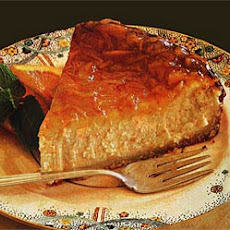 Citrus Cheesecake with Marmalade Glaze