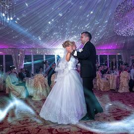 First dance by David Ovidiu - Wedding Reception ( first dance, wedding, bride, groom )