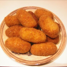 Potato Croquettes Deep Fried