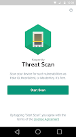 Screenshot of Kaspersky Threat Scan