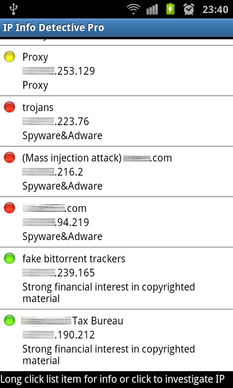 IP info Detective Pro Screenshot 2