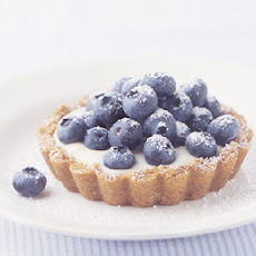 Blueberry Lemon Cream Tarts