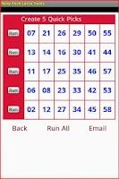 Screenshot of New York Lotto Tools