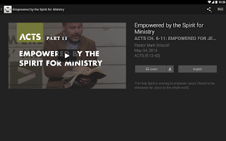 Screenshot of Mars Hill Church
