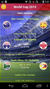 World Cup 2015 - screenshot