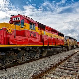 by Nancie Rowan - Transportation Trains