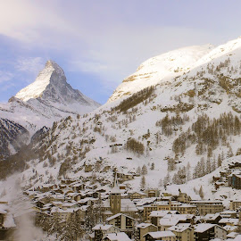 Matterhorn by Brian Killough - Landscapes Mountains & Hills ( mountain, mont cervin, zermatt, switzerland, matterhorn )