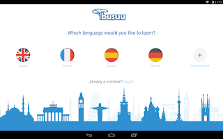 Screenshot of Learn Languages - busuu