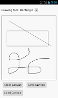 Screenshot of Canvas Draw