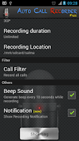 Screenshot of Free Call Recorder