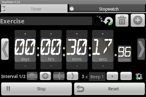 Screenshot of StopTimer - Stopwatch & Timer