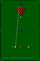 Screenshot of Snooker