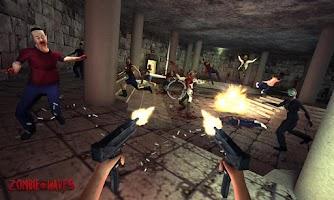 Screenshot of Zombie Castle Strike Adventure