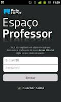 Screenshot of Espaço Professor