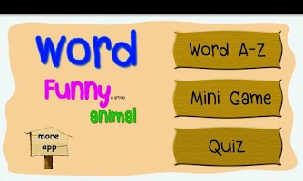 Screenshot of ABC Animal Quiz