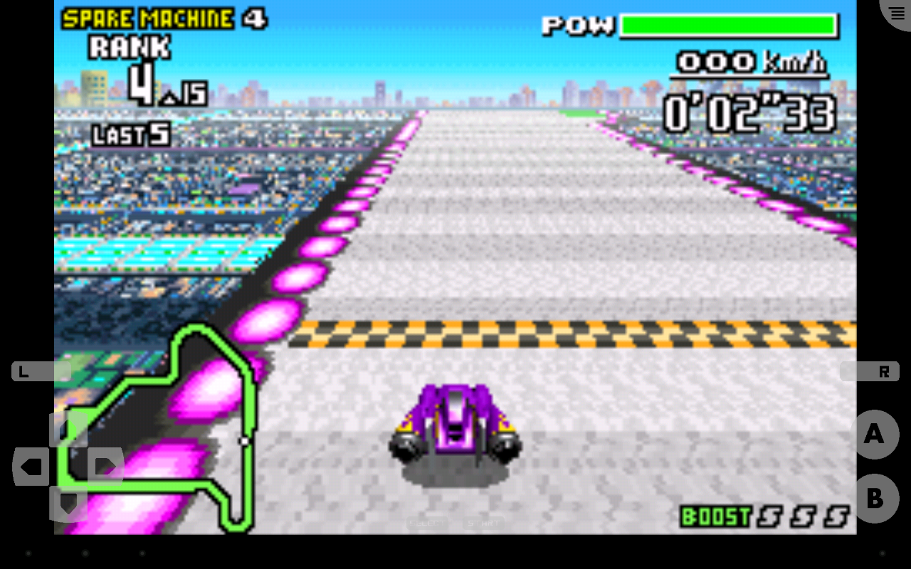 John GBA - GBA emulator Screenshot 4