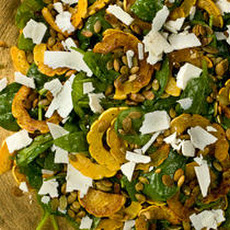 Roasted Delicata Squash Salad  Recipe
