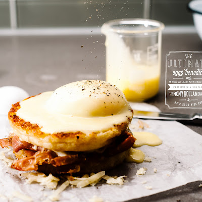 Grilled Cheese Eggs Benny & a Giveaway!