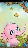 Screenshot of Autumn Baby Elephant Free