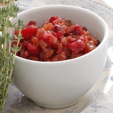 Cranberry and Onion Confit