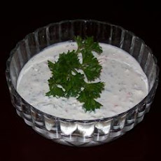 Blue Cheese Garlic Dip