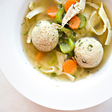 Matzo Ball Soup – The Hybrid Version
