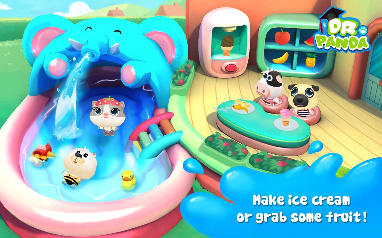 Dr. Panda's Swimming Pool Screenshot 1