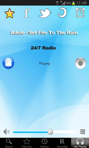 tfsradio-peru for android screenshot