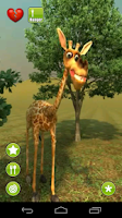 Screenshot of Talking Gigi Giraffe