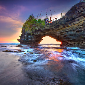 When The Sun Goes Down by Bertoni Siswanto - Landscapes Waterscapes ( bali, indonesia, bertoni siswanto, landscape )