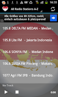 Screenshot of Indonesian Radio Music & News