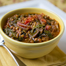 Swiss Chard and Lentil Stew
