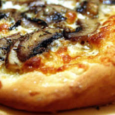 Crabmeat, Portobello and Truffle Oil Pizza