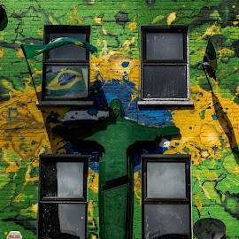 Brasil by Tavi Ionescu - Buildings & Architecture Homes ( brazil, building, camden town, flags, london, green, yellow, united kingdom, made in brasil )
