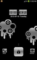 Screenshot of Silver Lock GoLocker Theme