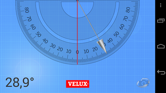 VELUX Roof Pitch - screenshot
