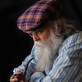 Pensive mood... by Rakesh Syal - People Portraits of Men (  )