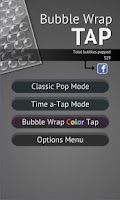 Screenshot of Bubble Wrap TAP