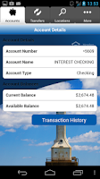 Screenshot of PWSB Mobile Banking