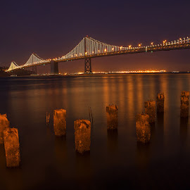 Bay bridge by Bhumsoo Kim - Buildings & Architecture Bridges & Suspended Structures