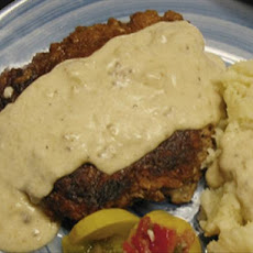 Broken Spoke's Chicken-Fried Steak