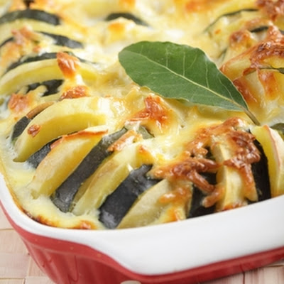 Potato and Zucchini Casserole Bake