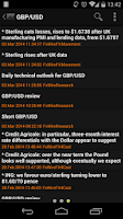 Screenshot of NetDania Forex & Stocks