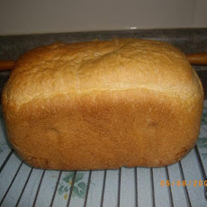 White Whole Wheat  Bread for the Abm