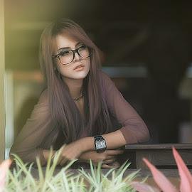 by Widayat Thok - People Portraits of Women