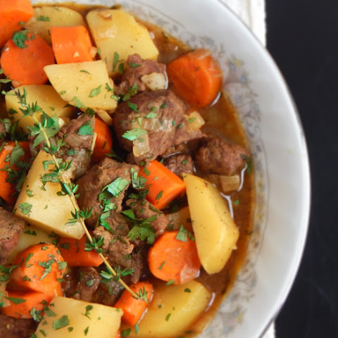 Easy Beef Stew for Two