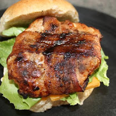 Bacon-Wrapped Turkey Burgers
