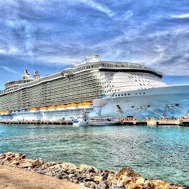 The Oasis of the Seas by Jim Zabroski - Digital Art Things ( cruise oasis of the seas hdr )