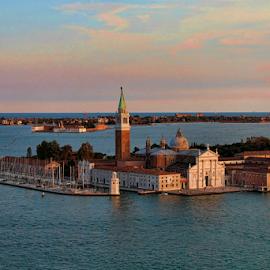 Venezia - Isola San Giorgio by Dominic Jacob - City,  Street & Park  Historic Districts ( venezia, isola, venice, venise, san giorgio, ile, island )
