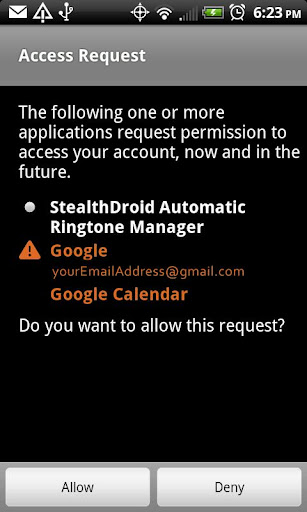 stealthDroid Volume Manager F